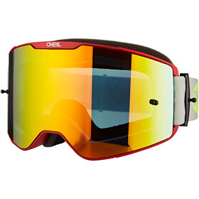O'Neal B-20 Goggles Plain, red/neon yellow-radium red